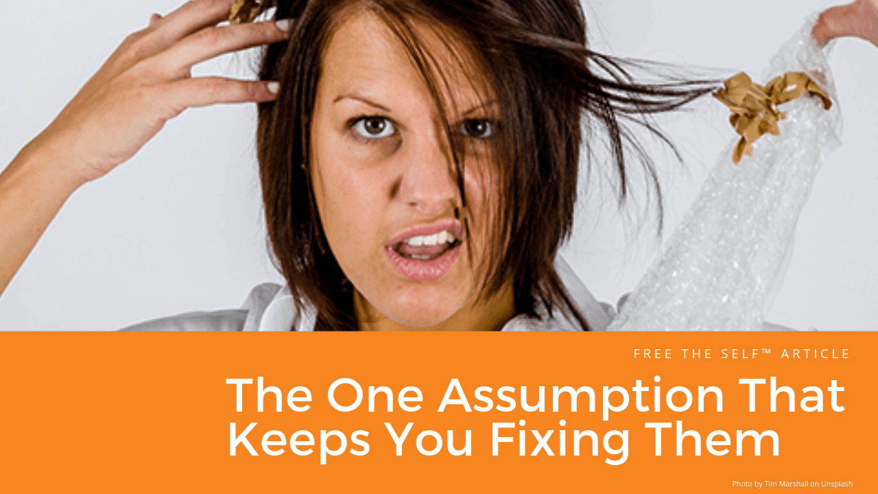 The One Assumption That Keeps You Fixing Them